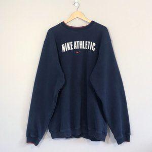 Vintage Nike Athletic Sweatshirt, Navy
